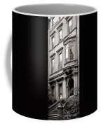 Brooklyn Heights -  N Y C - Classic Building And Bike Coffee Mug