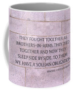Brother's In Arms  Coffee Mug