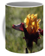 Brown And Yellow Iris Coffee Mug