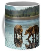 Brown Bear, Ursus Arctos, Walking Coffee Mug