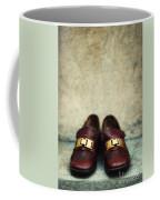 Brown Children Shoes Coffee Mug