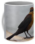Brown Cowbird Coffee Mug