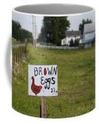 Brown Eggs Coffee Mug