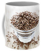Brown Flax Seed Coffee Mug