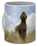 Brown Labradoodle Coffee Mug