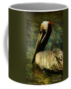 Brown Pelican Beauty Coffee Mug