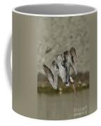Brown Pelican Diving Coffee Mug