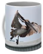 Brown Pelican Landing Coffee Mug