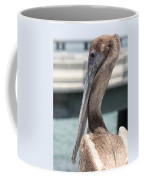 Brown Pelican Portrait Coffee Mug