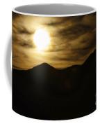 Brown Sky And Ridge Coffee Mug