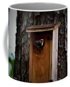 Brown Thrasher Feeding Time Coffee Mug
