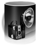 Brownie Hawkeye Black And White Coffee Mug