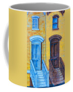 Brownstone Mural Art Coffee Mug
