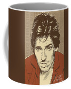 Bruce Springsteen Pop Art Coffee Mug