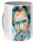 Bruce Springsteen Watercolor Portrait.1 Coffee Mug