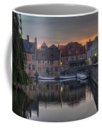 Bruges Canal Dawn Coffee Mug