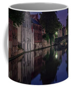 Bruges Canal Near Blind Donkey Alley  Coffee Mug