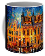 Bruges Coffee Mug by Leonid Afremov