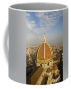 Brunelleschi's Dome At The Basilica Di Santa Maria Del Fiore Coffee Mug