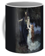 Brunhilde Knelt At His Feet, From The Coffee Mug