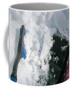 Brushing Winter Away Coffee Mug