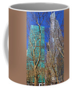 Bryant Park Coffee Mug by Mariola Bitner