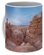 Bryce Amphitheater Fisheye View Coffee Mug