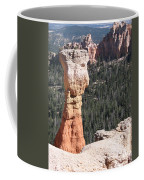 Interesting Bryce Canyon Rockformation Coffee Mug