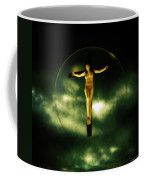 Bubble Crucifix Coffee Mug