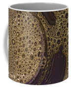 Bubbles And Metal Abstract Coffee Mug