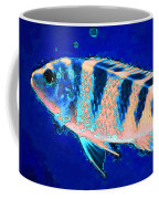 Bubbles - Fish Art By Sharon Cummings Coffee Mug