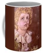 Bubbles Pastel Portrait Coffee Mug