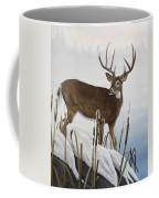 Buck At Waters Edge Coffee Mug