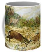 Buck Fight Coffee Mug