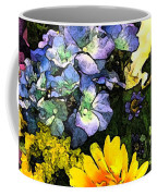 Bucket Of Flowers Coffee Mug