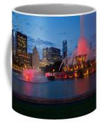 Buckingham Fountain Light Show Coffee Mug
