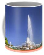 Buckingham Fountain Panorama Coffee Mug