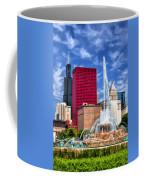 Buckingham Fountain Sears Tower Coffee Mug