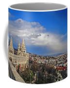 Budapest And Fisherman's Bastion Coffee Mug