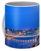 Budapest At Dusk Coffee Mug
