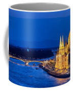 Budapest By Night Coffee Mug