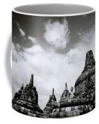 Buddha And Stupas Coffee Mug
