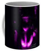 Buddha Reflecting Purple Coffee Mug