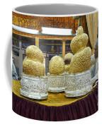 Buddha Figures With Thick Layer Of Gold Leaf In Phaung Daw U Pagoda Myanmar Coffee Mug