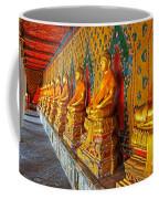 Buddhas At Wat Arun, Bangkok Coffee Mug