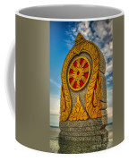 Buddhist Icon Coffee Mug by Adrian Evans