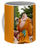 Buddhist Monk On Journey Haw Par Villas Singapore Coffee Mug