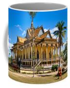 Buddhist Temple In Kratje - Cambodia Coffee Mug