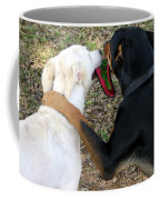 Buddies Sharing Coffee Mug