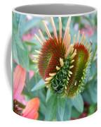 Budding Coneflower Coffee Mug